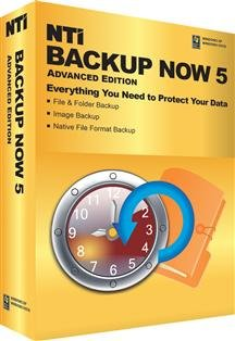 Popular Nti Corporation Backup Now 5 Advanced Edition Protect Your Data Multiple Drives Sm Box
