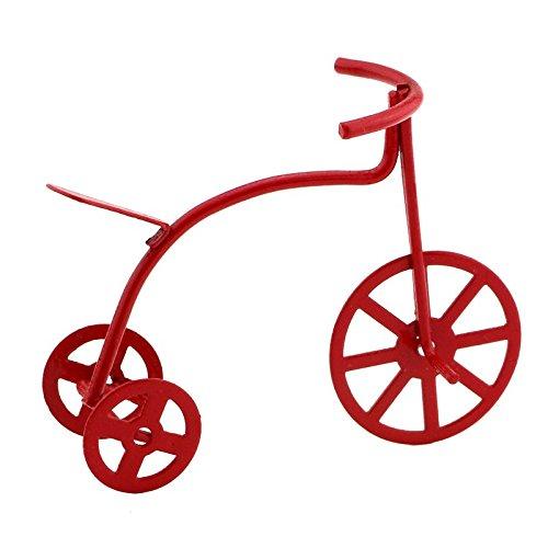 MyTinyWorld Puppenhaus Miniatur Klein Rot Dreirad