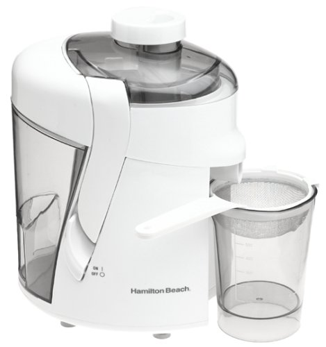 Hamilton Beach Health Smart Juice Extractor Stainless Steel White 350 W