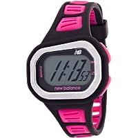 [ニューバランス]new balance 腕時計 STYLE 500 ランニングウォッチ ブラック×ピンク ST-500-002 【正規輸入品】