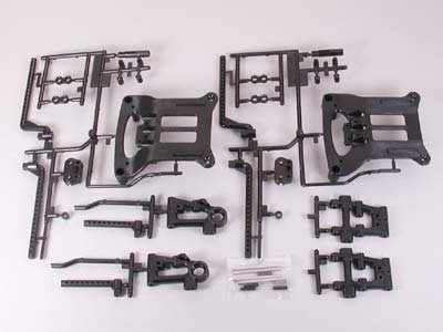 B Parts Suspension Arms: Tt01D
