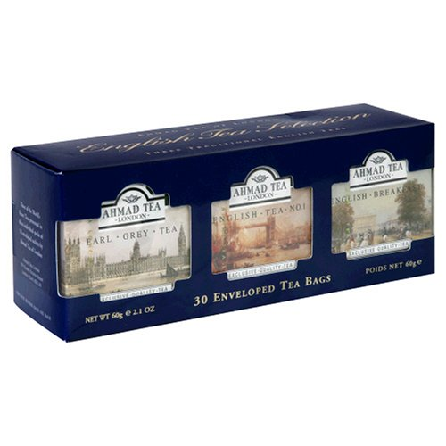 Buy Ahmad English Tea Selection, Tea Bags, Variety Pack of Three Flavors, 30-Count Box (Pack of 5) (Ahmad, Health & Personal Care, Products, Food & Snacks, Beverages, Tea, Black Teas)