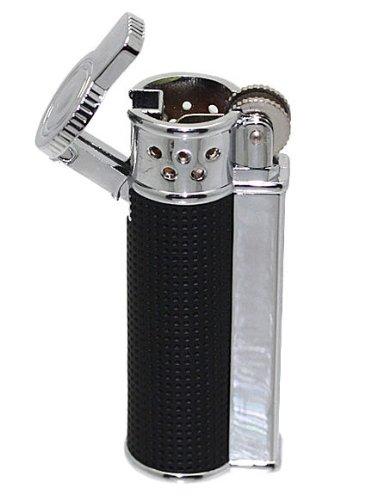 Original Oramics Torch / Lighter with Protective Cap - Bunsen Burner - Black - Ideal accessory for cigarettes, cigars, hookah, etc. - color variations: Black or Brown