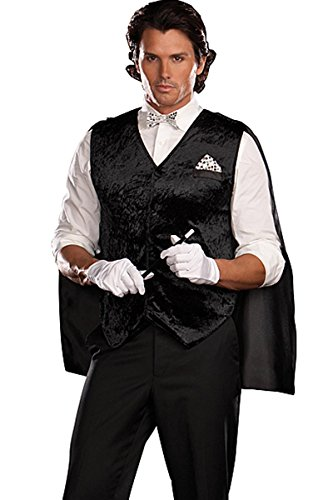 Dreamgirl Black Magic Man Costume Kit (Shirt/Pants not included)