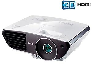 BENQ Vidéoprojecteur 3D W700 + Support plafond pour vidéoprojecteur VPC 545 (Vidéoprojecteurs 3D pack bundle)
