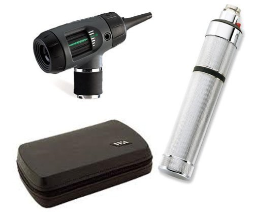 welch-allyn-25070-m-otoscope-set-with-macroview-otoscope-direct-plug-in-handle-hard-case-by-welch-al
