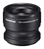 Olympus Telephoto Tough Lens Pack (lens and adapter) for TG-1 and TG-2 Cameras (Black with Red Adapter) from Olympus
