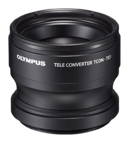 Olympus Tcon-T01 Tele Converter For Olympus Tg-1 & Tg-2 (Black)