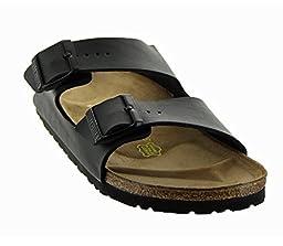 Birkenstock Women\'s Arizona Two Band Sandals, Black, 41 N EU (10-10.5 N US Women)