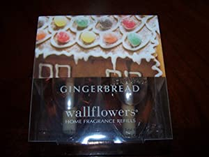gingerbread wallflowers home fragrance refills