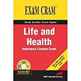 img - for Life and Health Insurance License Exam Cram [Paperback] [2004] PAP/CDR Ed. Bisys Educational Services book / textbook / text book
