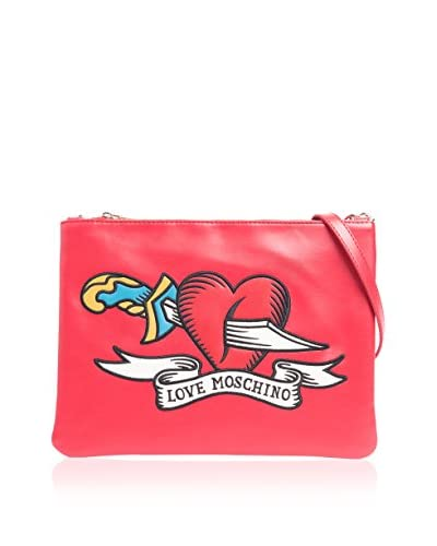 Love Moschino Schultertasche rot