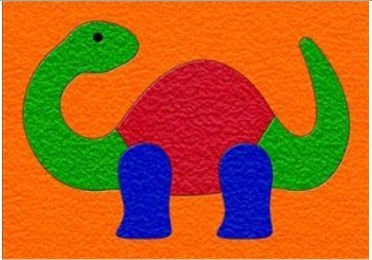 Cheap Fun Lauri 1967 Crepe Rubber Puzzle- Dino- Pack of 2 (B005GVB3CM)