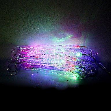 Mch-4M 20 Leds Christmas Halloween Decorative Lights Festive Strip Lights-Small Icicles (220V)