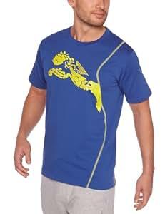 Puma Grpahic Cell T-Shirt manches courtes homme Monaco Blue S
