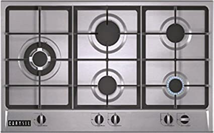 Carysil Swing Stainless Steel Built in Hob (5 Burner)