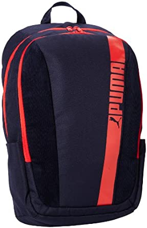 PUMA Men's Revert Backpack, New Navy/Pumared, One Size