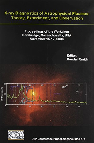 X-Ray Diagnostics of Astrophysical Plasmas: Theory, Experiment, and Observation (AIP Conference Proceedings / Atomic, Molecular, Chemical Physics)