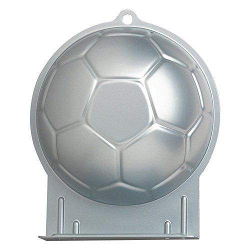 Wilton Aluminum Soccer Ball Cake Pan - 1