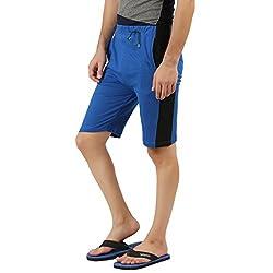 Hotfits blue black graphic summer shorts