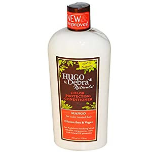 Hugo Naturals Color Protecting Conditioner, Mango, 12 Ounce
