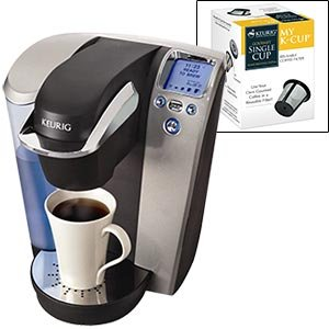 The machine every one MUST have Keurig® Platinum B70 Gourmet Single Cup Coffee & Tea Brewing System Added Value: 60 K-Cups & My K-Cup Reusable Filter Best Deals