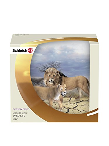 Schleich Lion Scenery Pack Box Set - 1