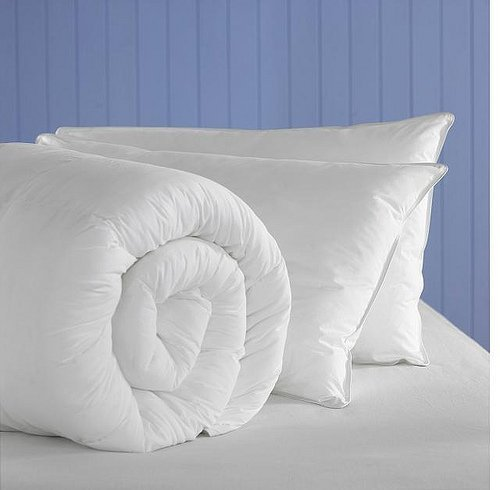 Kingsize 13.5 TOG All Seasons Soft as Down 100% Luxury Peached Microfibre Duvet