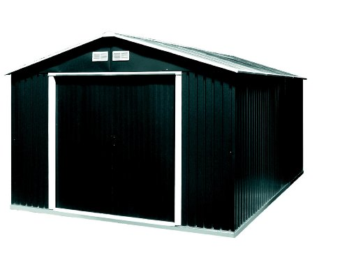 tepro gartenhaus metallger tehaus colossus 10x10 anthrazit. Black Bedroom Furniture Sets. Home Design Ideas