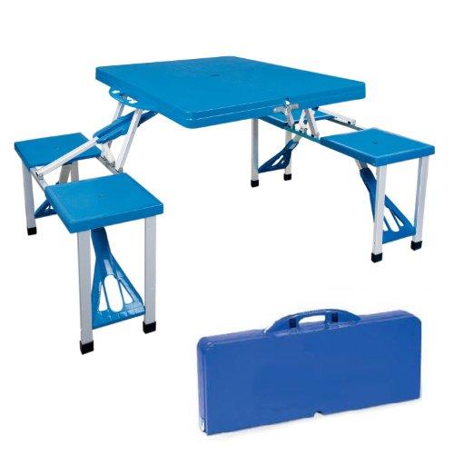 Picknicktisch-leichtgewichtig-zusammenklappbar-Sthlen