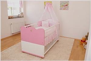 Kinderbett Babybett Prinzessin 140x70  BabyKundenbewertung: