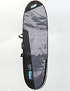 ProLite Session Longboard 5mm 8ft 6 Boardbag - Grey