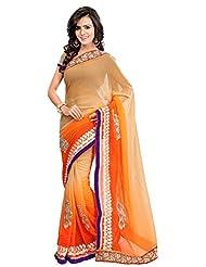 Bano Tradelink Women's Chiffon Saree(7019)