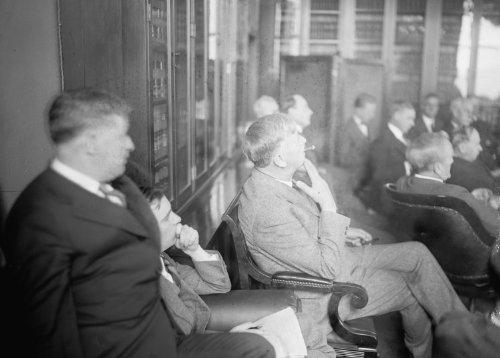 1926 photo Atty. Gen. Sargeant at aluminum hearing at Capitol, Washington, D.C., 1/9/26