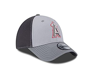 MLB Los Angeles Angels Grayed Out NEO 39Thirty Stretch Fit Cap