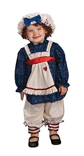 [Rubie's Costume Yarn Babies Ragamuffin Dolly Costume, Multicolor, 6-12 Months] (Ragamuffin Costume)