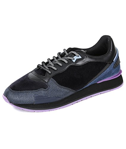 wiberlux-kenzo-mens-velvet-panel-lace-up-running-shoes-40-navy