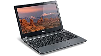 New Acer C7 C710-2847 Chromebook 11.6&quot; Intel Dual Centre B847 1.1 GHz 2GB DDR3 320GB 5400RPM HDD Wifi HDMI USB3.0 VGA Dance-card Reader
