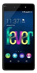 Wiko Fever Smartphone débloqué 4G (Ecran: 5,2 pouces - 16 Go - Double SIM - Android 5.1 Lollipop) Noir/Or