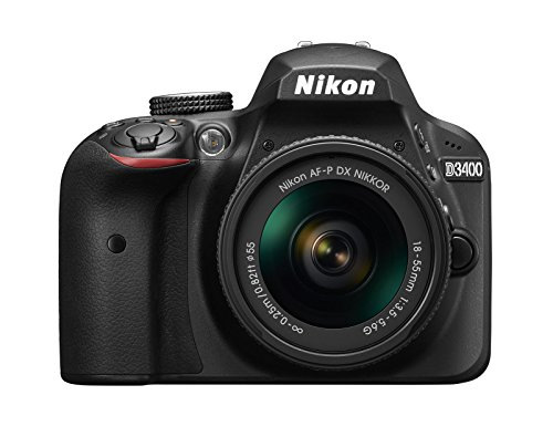 Nikon D3400 + AF-P DX 18-55 mm 1:3.5-5.6G VR 24.2MP CMOS 6000 x 4000Pixels Nero