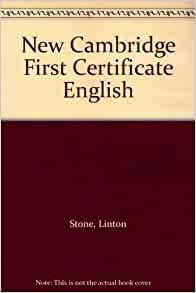 amazoncom new cambridge first certificate english
