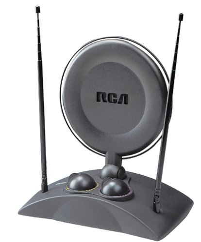 RCA ANT1250 UHF VHF Amplified indoor AntennaB000063TLB