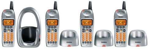 Uniden Dct646-4 Digital 2.4 Ghz Expandable Cordless System, Call Waiting/ Caller Id And Accessory Handset And Charger