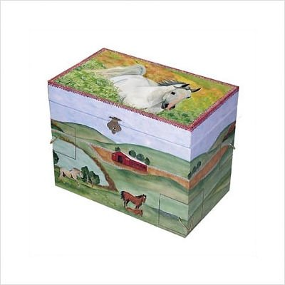 Enchantments Running Free Jewelry Box
