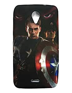 MICROMAX Unite 2 A106 Back Case Cover (MultiColor)