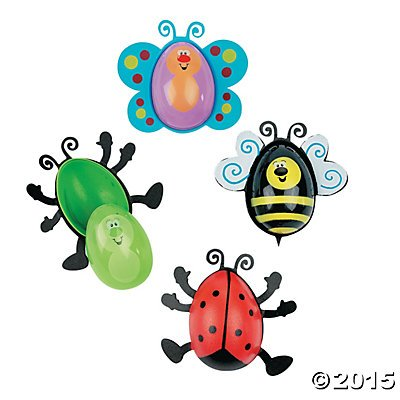 Bug Shaped Easter Eggs - 12 ct - 1