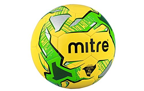 mitre-impel-training-football-yellow-green-silver-size-4-pack-of-10