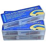 5er-Pack PVC und PU Reparaturset XL, Flickzeug für Schlauchboot Zelt Pool Gewebe Planen Vinyl PVC PU (Polyurethan)