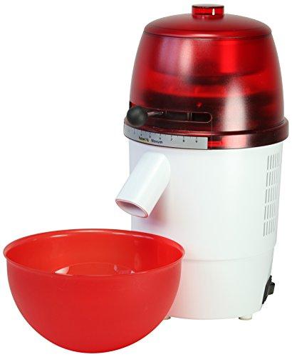 878060 Elektro-Getreidemühle Novum, rot / weiß