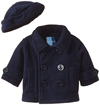 Amazon.com: Good Lad Baby Boys' Peacoat with Hat and